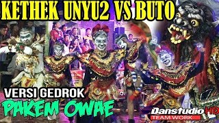 Video KEREN BANGET TARIAN KETHEK UNYU2 VS BUTO  GEDROK TERBARU #PAKEM#LIVE IN KENTENGSARI JERUK SELO download MP3, 3GP, MP4, WEBM, AVI, FLV Juni 2018