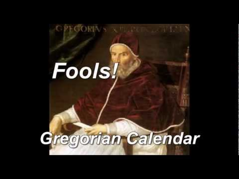 APRIL FOOL'S DAY = GOD'S NEW YEAR ???