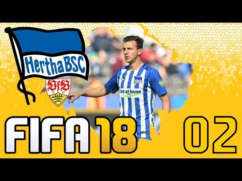 FIFA 18 | Karrieremodus mit Hertha BSC #02 | Bundesliga Start vs. VfB Stuttgart | Karriere | Deutsch