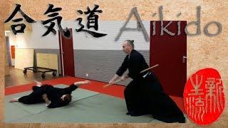 Aikido - Jo tori (tsuki) - Kokyu Nage