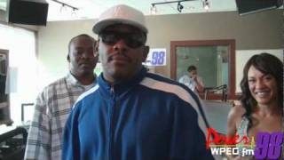 power 98 petey pablo helps out with maddhouse promo