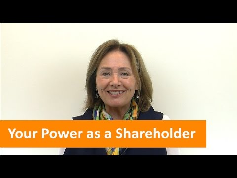 Your Power as a Shareholder