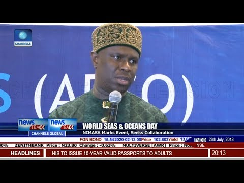 NIMASA Marks World Seas & Oceans Day