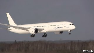 Boeing 787-10 Dreamliner - Crosswind Testing