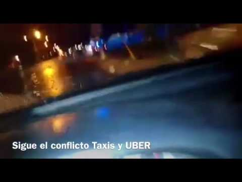Sigue conflicto Taxis Vs UBER