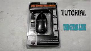 Tutorial Menggunakan USB Guitar Link