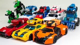 Transformers RID Bumblebee Optimus Prime Retchet Drift Grimlock Thunderhoof 16 Vehicle Robot Car Toy