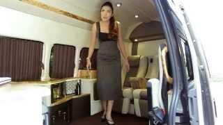 รถตู้ ตกแต่งรถตู้ VIP - ลิโม่ เล้านจ์