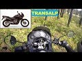Test ride. HONDA TRANSALP 650. Off Road?