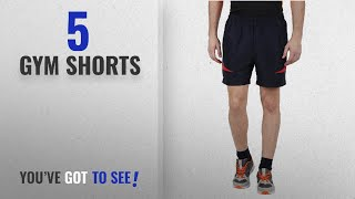 Top 10 Gym Shorts [2018]: Klamotten Blue & Red Jogging Shorts (32)