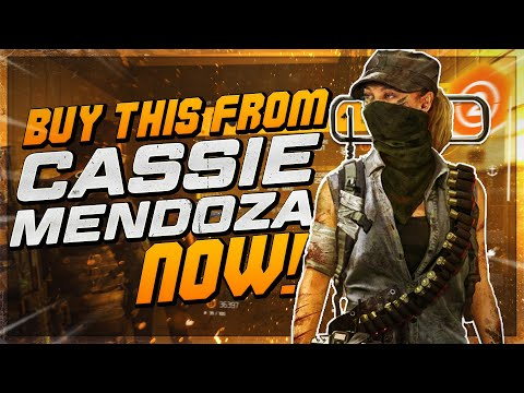 *BUY THESE NAMED ITEMS NOW* The Division 2 - Cassie Mendoza Vendor Reset (September 8th 2021) |