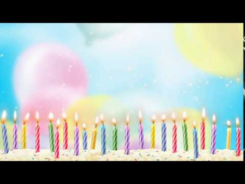 Birthday Video background free download, free wedding background, hd animation loops - CHILD 002 thumbnail