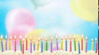 Birthday Video background free download, free wedding background, hd animation loops - CHILD 002
