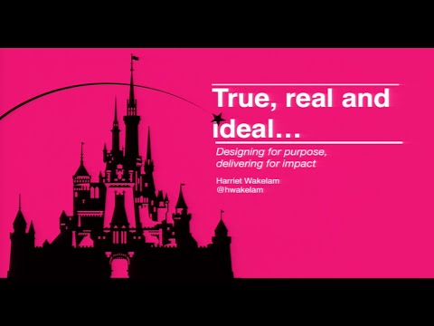 True, real and ideal designing for purpose, delivering with impact
