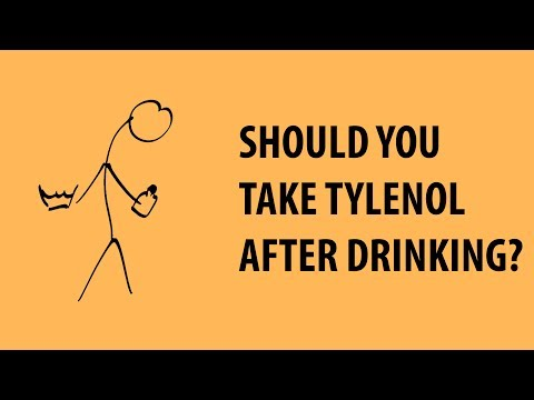 Tylenol And Hangovers Dangerous Mix Updated Version