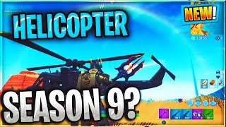 What does 'The Helicopter' mean in Fortnite? SEASON 9 EVENT?