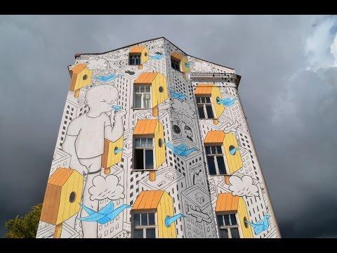 Vilnius Street Art 2015 | gbtimes Lithuania