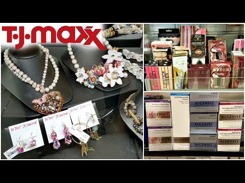 Shop With ME TJ MAXX BETSEY JOHNSON JEWELRY BVLGARI BEAUTY FINDS WALK THROUGH 2018