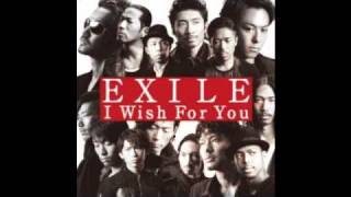 EXILE I wish for you KARAOKE