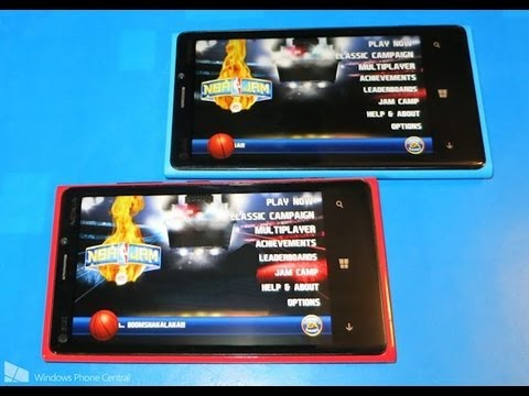 NBA Jam: Windows Phone Review And Multiplayer Demonstration