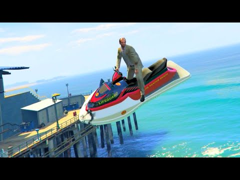 GTA V Unbelievable Crashes/Falls & Funny Moments - Episode 101