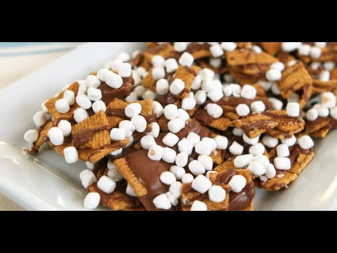 S'mores Snack Mix Recipe   Dessert Ideas   Food How To