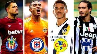 MANOTAS a CRUZ AZUL, CÁCERES a RAYADOS y MAS FICHAJES CONFIRMADOS Liga MX Apertura 2019