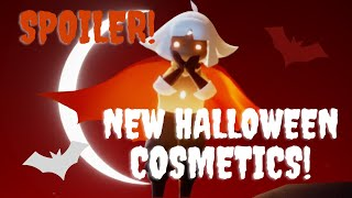 Sky: CotL New Halloween Outfit! Trying It On With Other Cosmetics!