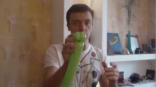 """Как сделать фигурку из шариков """"Змея"""". Твистинг."""