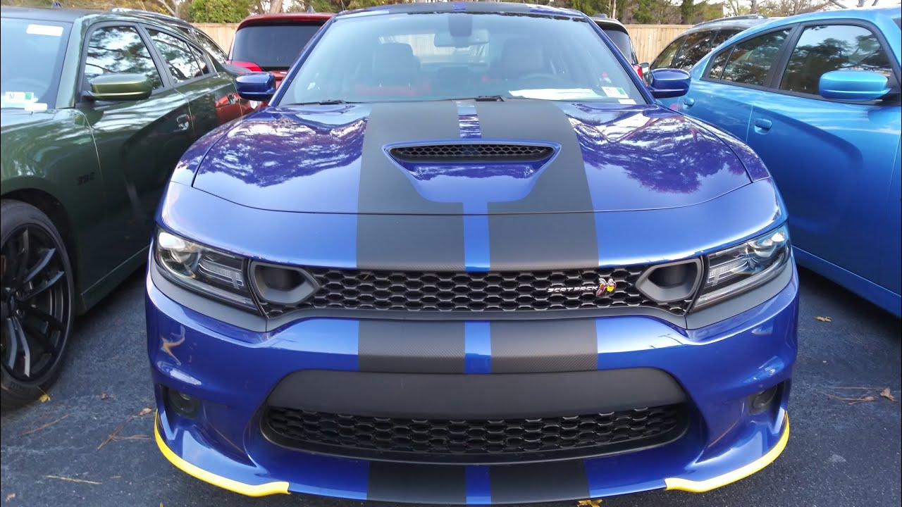 2019 Charger R T🐝scatpack Plus Indigo Blue🔥 Youtube