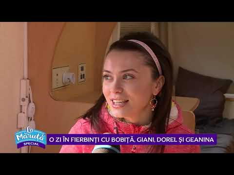 In Fierbinti se rade si in culise alaturi de Bobita, Giani, Dorel si Geanina