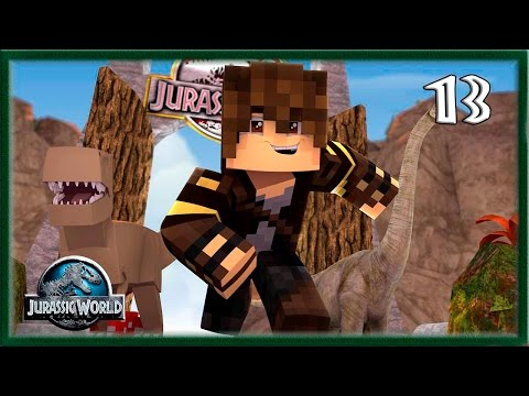 MINECRAFT - JURASSIC WORLD GÊNESIS - CENTRO DO PARQUE   EP 13 - 1.7.10