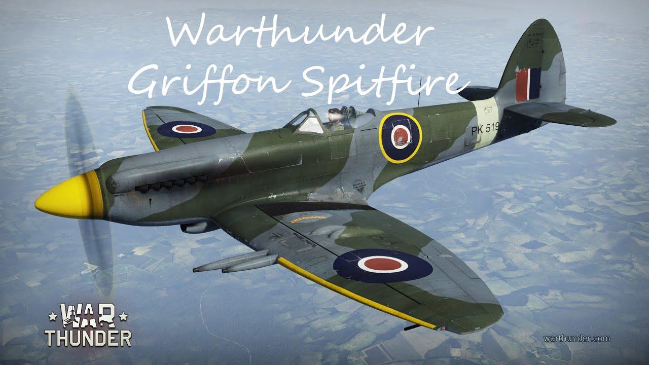 griffon spitfire war thunder