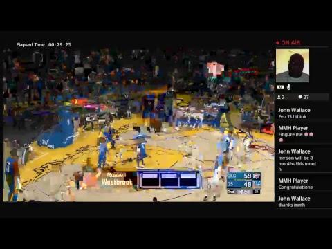 Oklahoma City Thunder Vs Golden State Warriors.. Full Game NBA 2k18