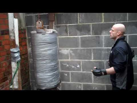 The Ultimate Punch Bag 17 Stone Tree Trunk Youtube