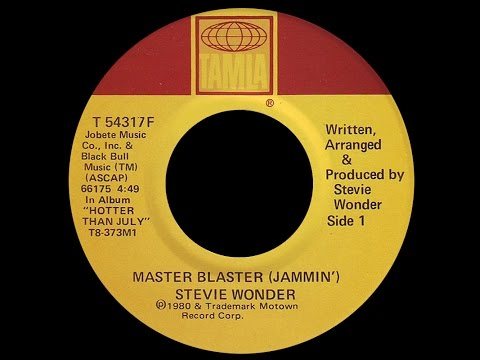 Stevie Wonder ~ Master Blaster (Jammin') 1980 Reggae Purrfection Version