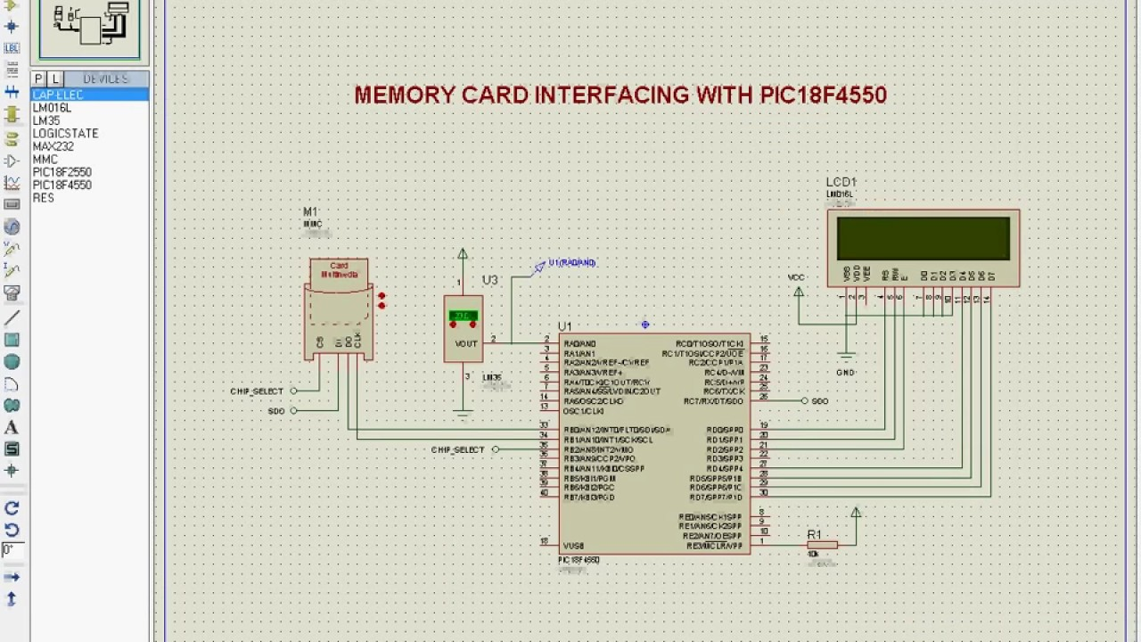 Memory Card Interfacing with PIC Micro-Controller - Embedded