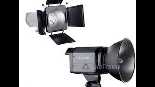 видео галогеновый осветитель