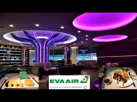 EVA Airways 777 Business Class Chicago O'Hare to Taipei