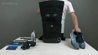 Обзор городского рюкзака Gud Rolltop Black