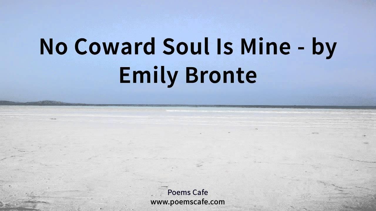 bronte no coward soul is mine