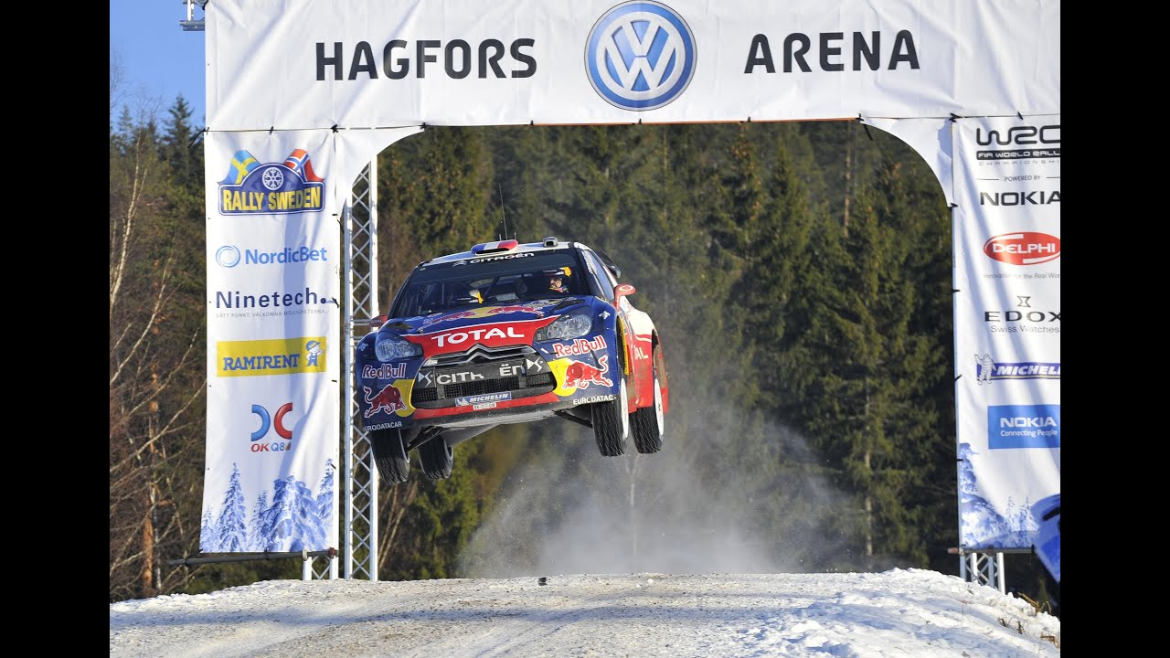 WRC Rally Sweden Helicam Stage YouTube - Rally sweden map 2016