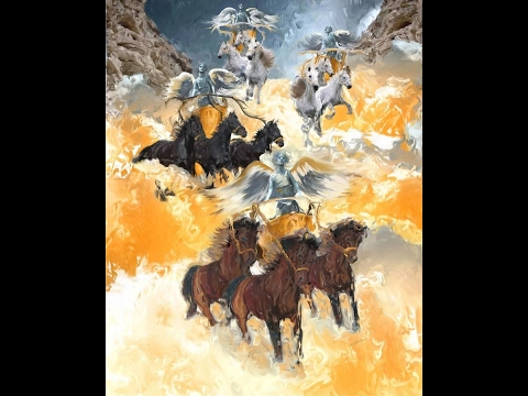 Zechariah 6:1-15 - The Four Chariots - YouTube