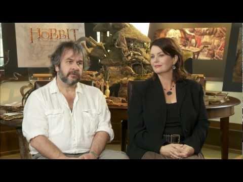 The Hobbit 2012 Exclusive Peter Jackson & Philippa Boyens