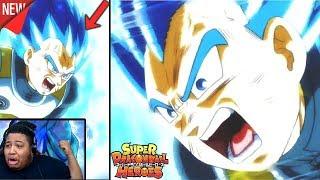 YESSS VEGETA GOES SUPER SAIYAN BLUE EVOLUTION!! Super Dragon Ball Heroes Episode 10 | Live Reaction