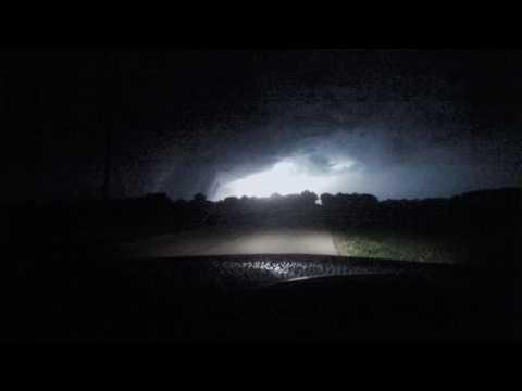 Quad Cities Night Time Tornado Oct  6, 2016