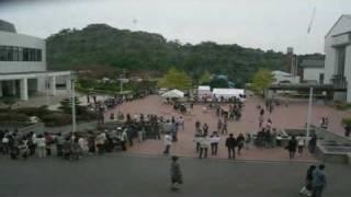 平成21年10月24日、いわき明星大学の学園祭の定点撮影映像です。この日...
