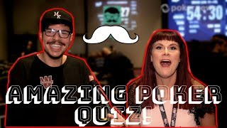 The Amazing Poker Quiz w Poker Legend Mustapha Kanit