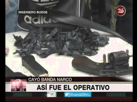 Canal 26 -Ingeniero Budge : Cayó banda narco