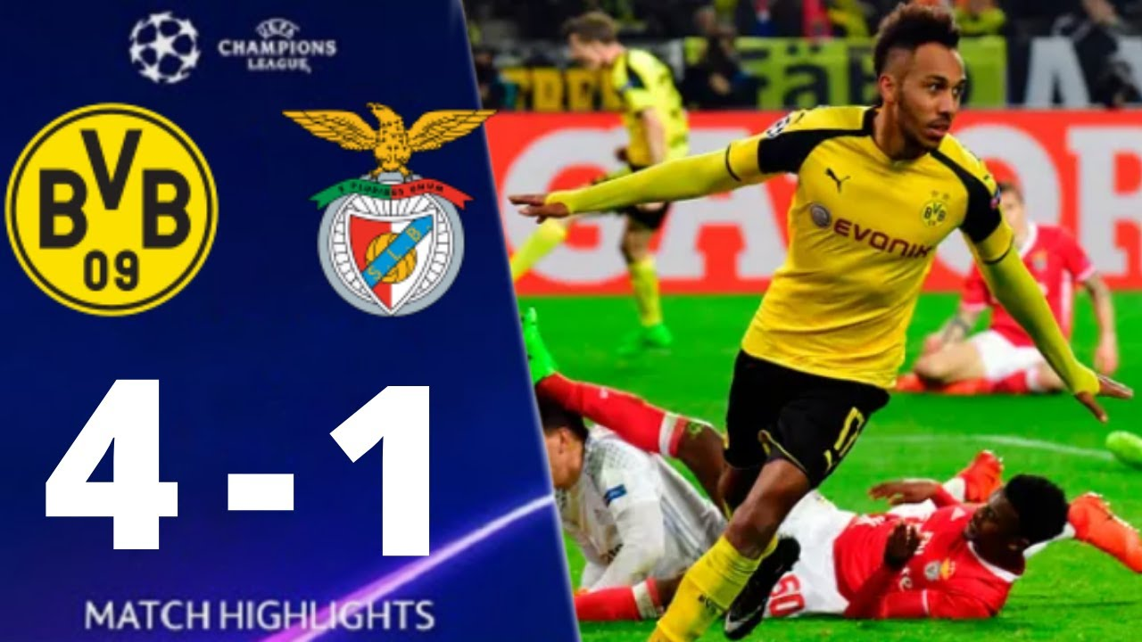 Download Borussia Dortmund vs Benfica 4-1 (agg) UEFA Champions League 2017 All Goals And Highlights